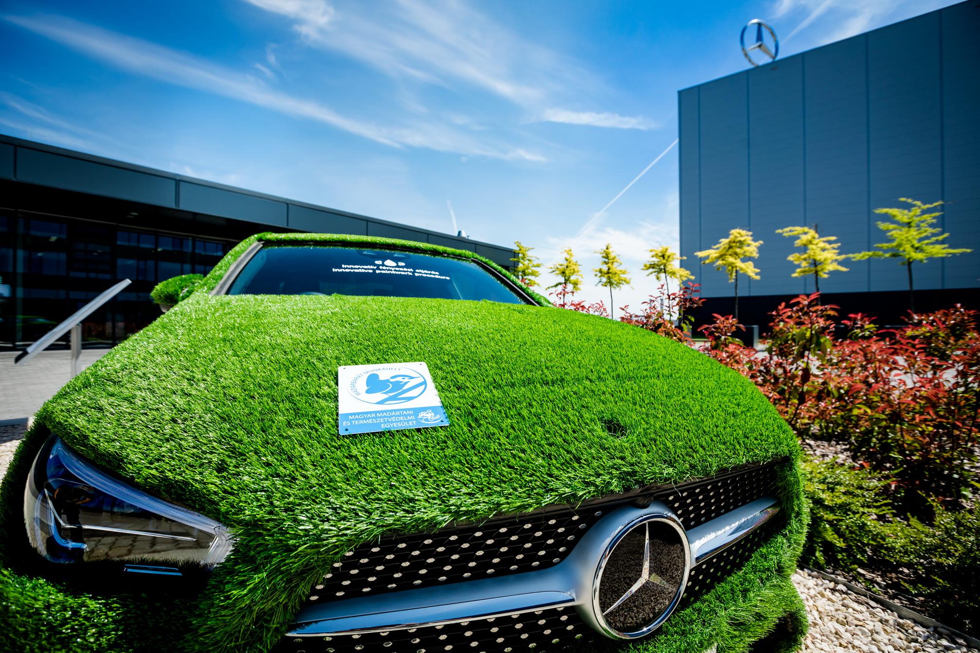 Madárbarát Munkahely díjat kapott a Mercedes-Benz gyár