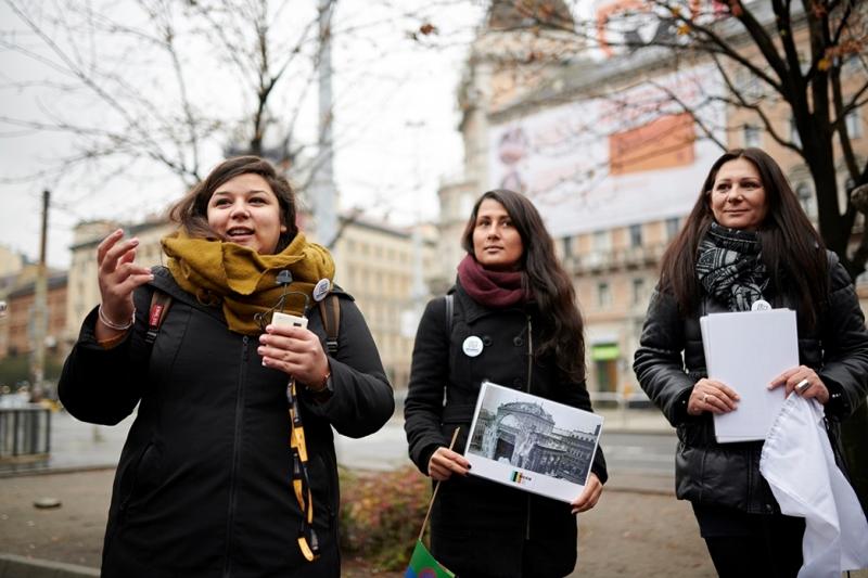 Roma fiatalok vezetik az interaktív városi sétákat