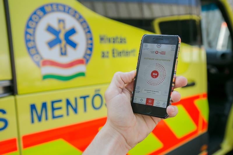 Vodafone-os applikációt vezet be az OMSZ