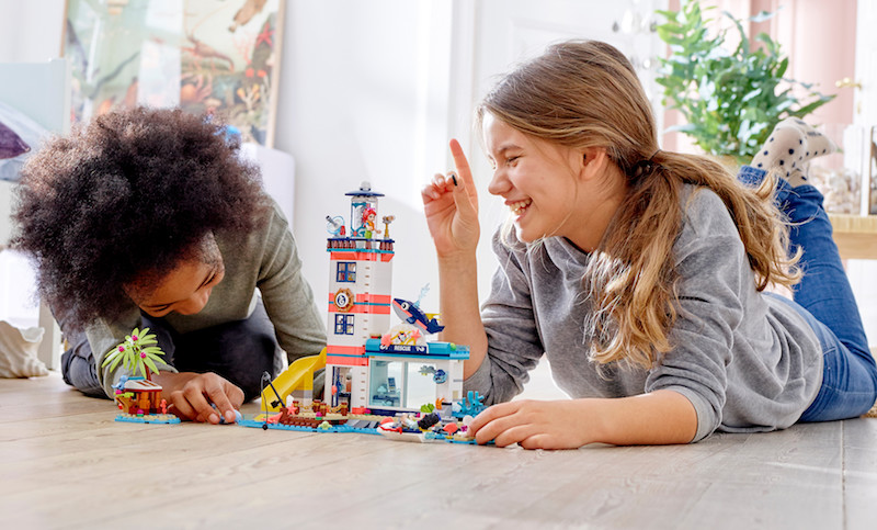 Új LEGO-szett: tengeri állatmentés!